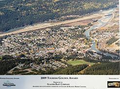 Kicking Horse Chamber of Commerce Award for Glacier Raft Company