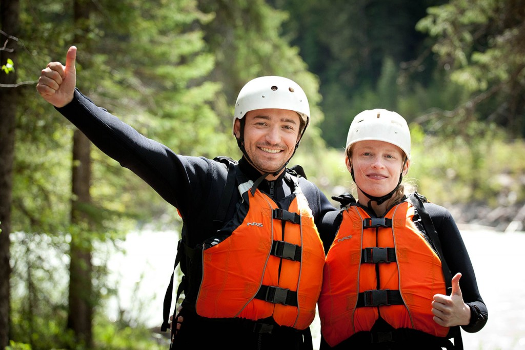 a superb white water rafting experience in golden bc