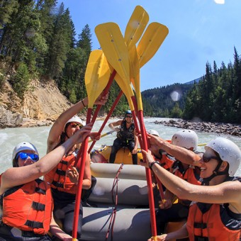 stag and stagette white water rafting golden