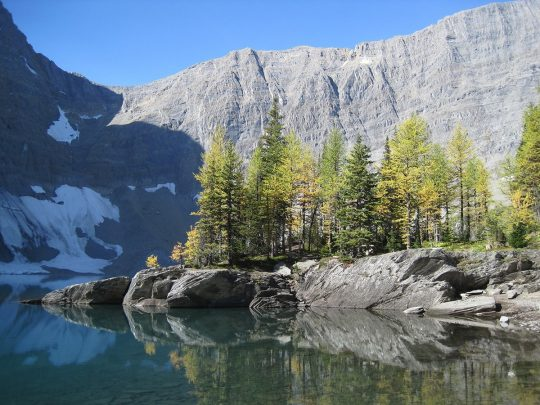 Floe Lake in Kootenay National Park