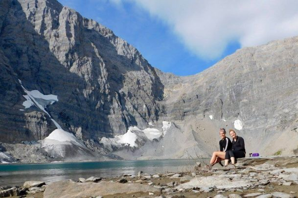 Hiking to Floe Lake in Kootenay National Park