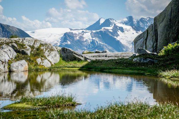 Hermit Trail in Glacier National Park, BC