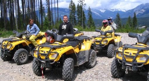 ATV tours in Golden, British Columbia