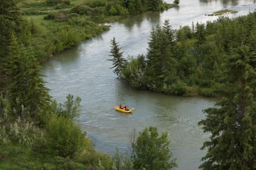 Kayak rentals in Golden, B.C.