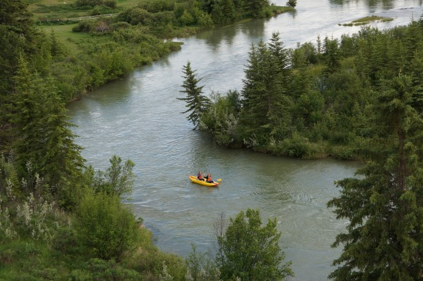 Kayak rentals in Golden, B.C.