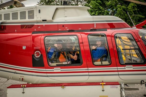 Heli Rafting in Golden British Columbia