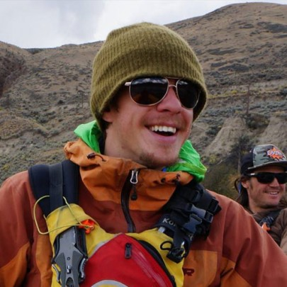 Darren Trapp - raft guide at Glacier Raft Company