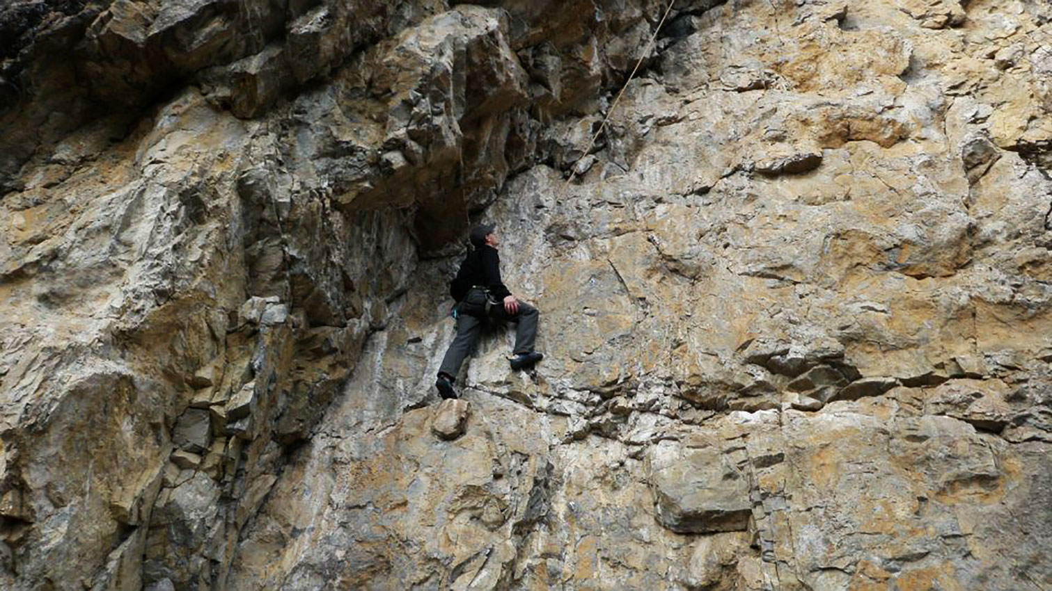 Glacier's Driver, Einar, Rock Climbing