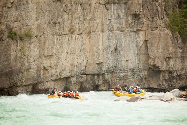 Class 4 rapids on our Ultimate Adventure.