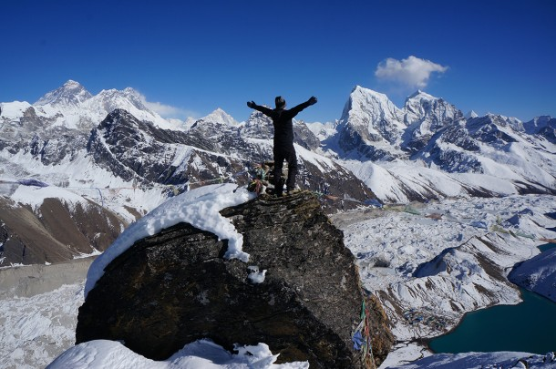 Trekking to Gokyo Ri in Nepal