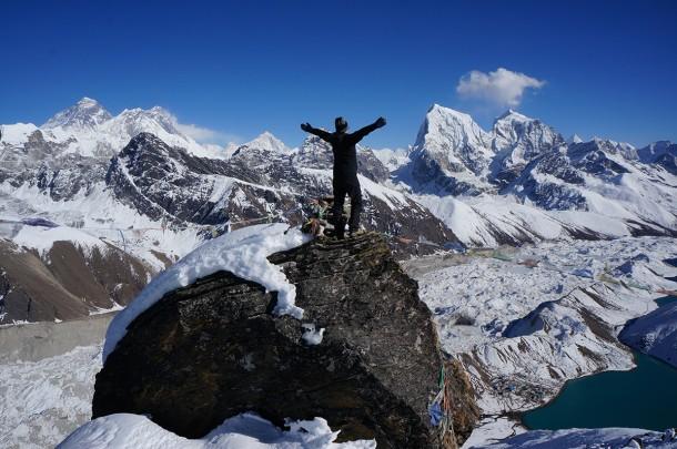 Trekking to Gokyo Ri in Nepal