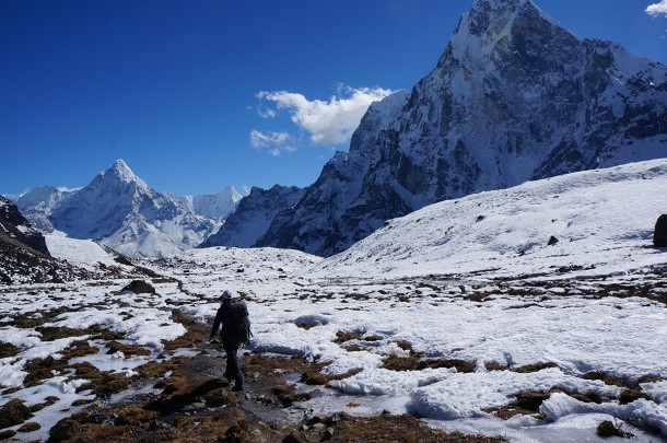 Trekking to Everest Base Camp Nepal