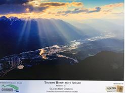 Award for Glacier Raft Company Tourism and Hospitality Award