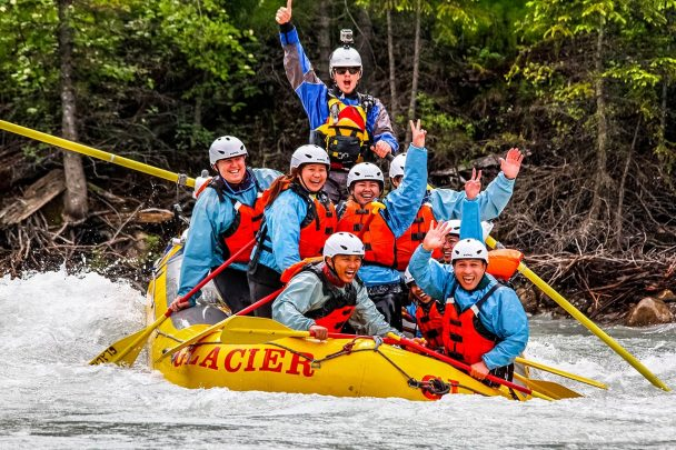 Whitewater rafting in Golden B.C.
