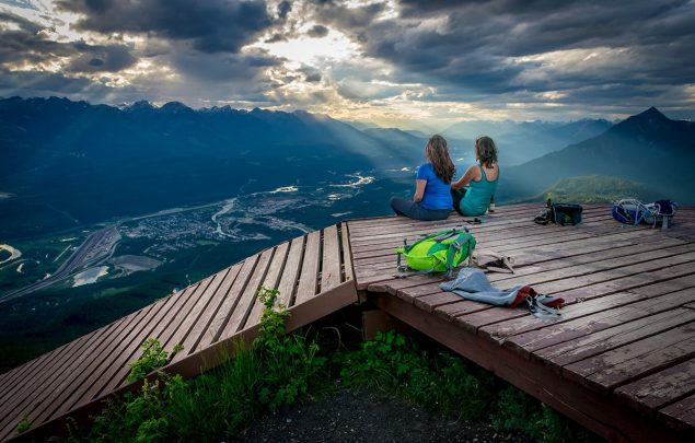 Mount 7 Lookout in Golden BC