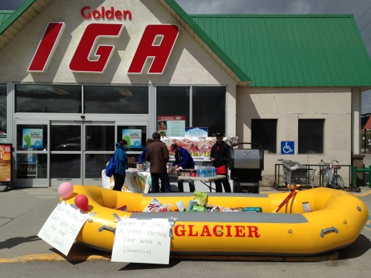 Fill a Raft for the Golden Food Bank