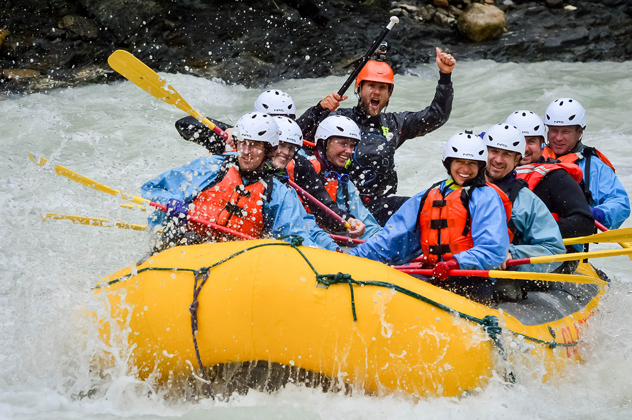 Lead guide at Glacier Raft Company Jair Stolz