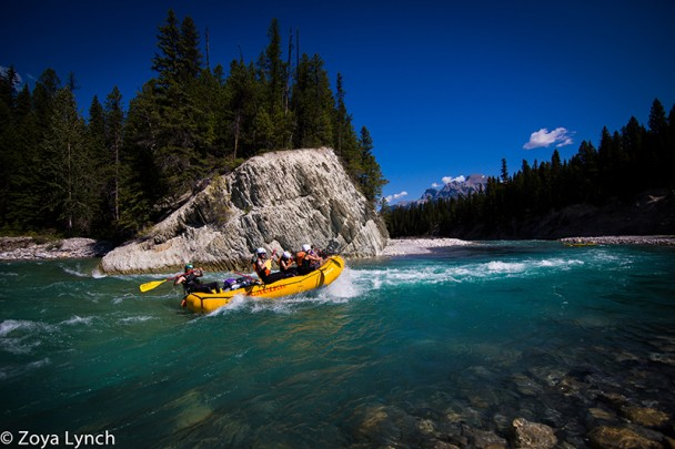 White water rafting on the White River
