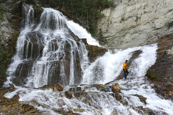 Climbing Waterfalls on the Kootenay River 3 Day Rafting Trip
