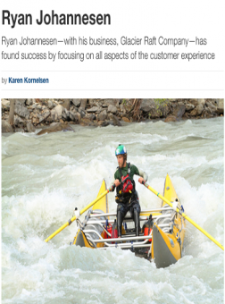 Glacier Raft Company in Kootenay Business Magazine