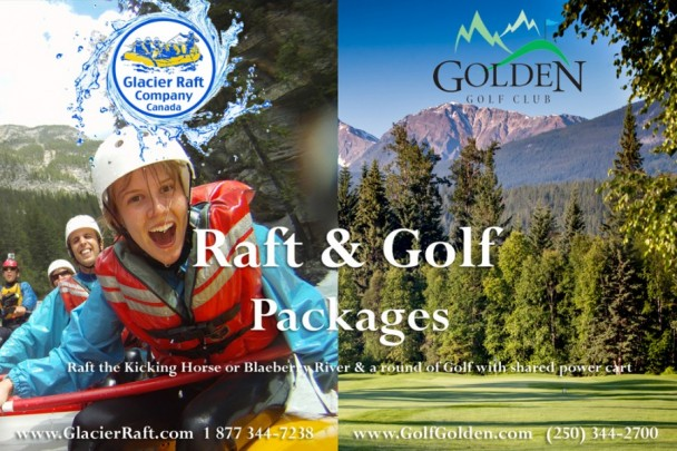 Raft and Golf Packages in Golden, B.C.