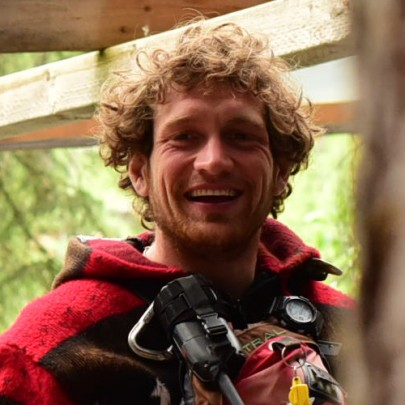 Michael Reeder - raft guide at Glacier Raft Company