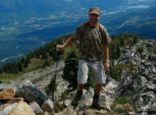 Hiking near Golden, B.C.