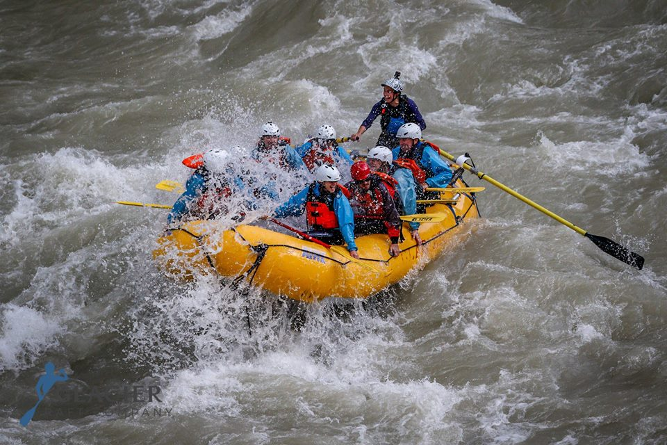 Raft Guiding the Kicking Horse in Golden BC