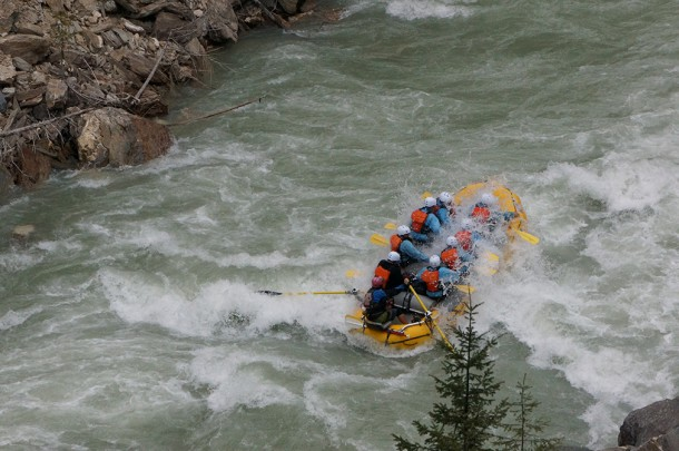 Kicking Horse River - Opening Day 2015