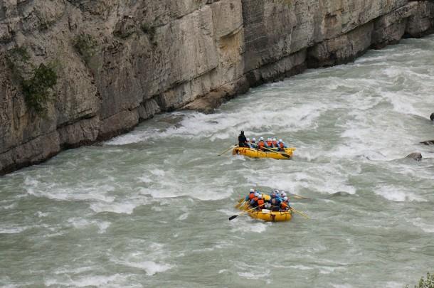 Kicking Horse River - Opening Day