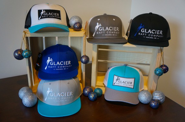 Glacier Raft Company Ball Caps