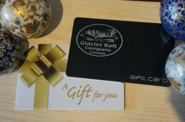 Gift Card from Glacier Raft Company