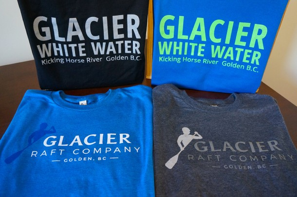 T-Shirts for Men from Glacier Raft Company
