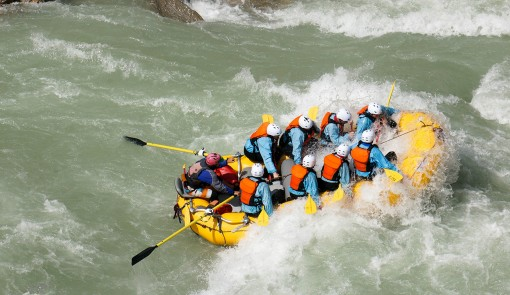 White water rafting in Golden BC with Glacier Raft Company