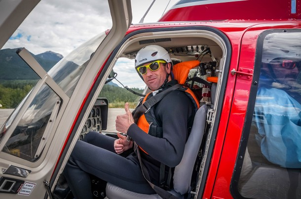 Heli rafting in Golden BC with Glacier Raft Company