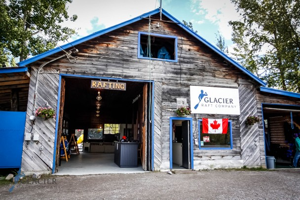 Glacier Raft Company Base in Golden BC