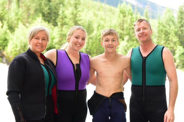 Rafting with Glacier Raft Company on the Kicking Horse River