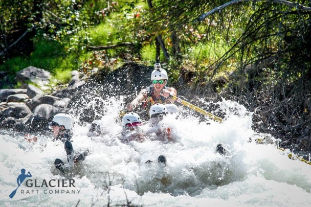 Kicking Horse River with Glacier Raft Company