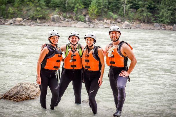 Rafting with Glacier Raft Company