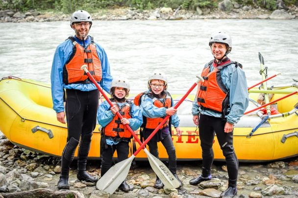 Rafting with Glacier Raft Company in Golden, BC