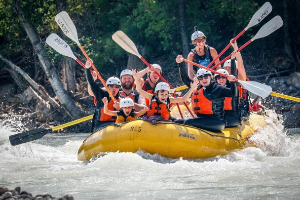 Family Adventure on the Kicking Horse River