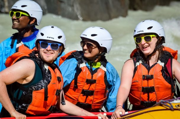 Rafting with Glacier Raft Company in Golden BC