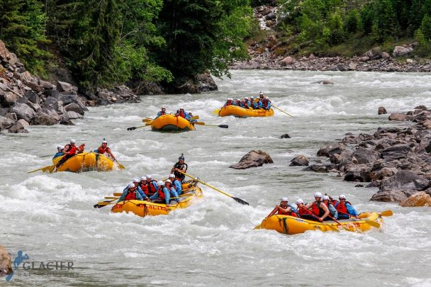 Whitewater Rafting with Glacier Raft Company in Golden, BC