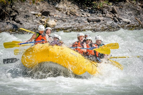 Rafting the Kicking Horse River with Glacier Raft Company