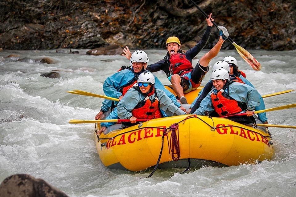 Glacier Raft Company guide Emmanuel Mercier