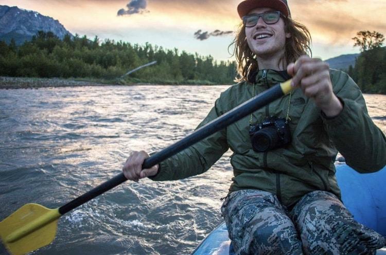 Glacier Raft Company guide Josh Dube