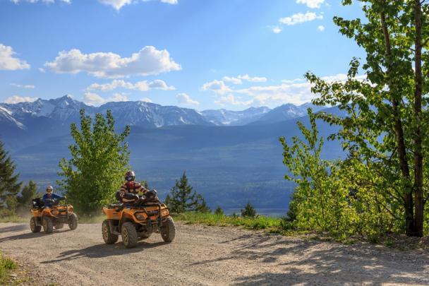 ATV tours in Golden, BC