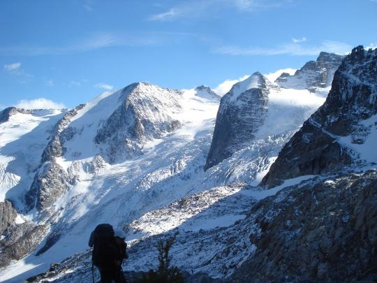 Hiking Conrad Kain and Applebee Dome in Bugaboo Provincial Park