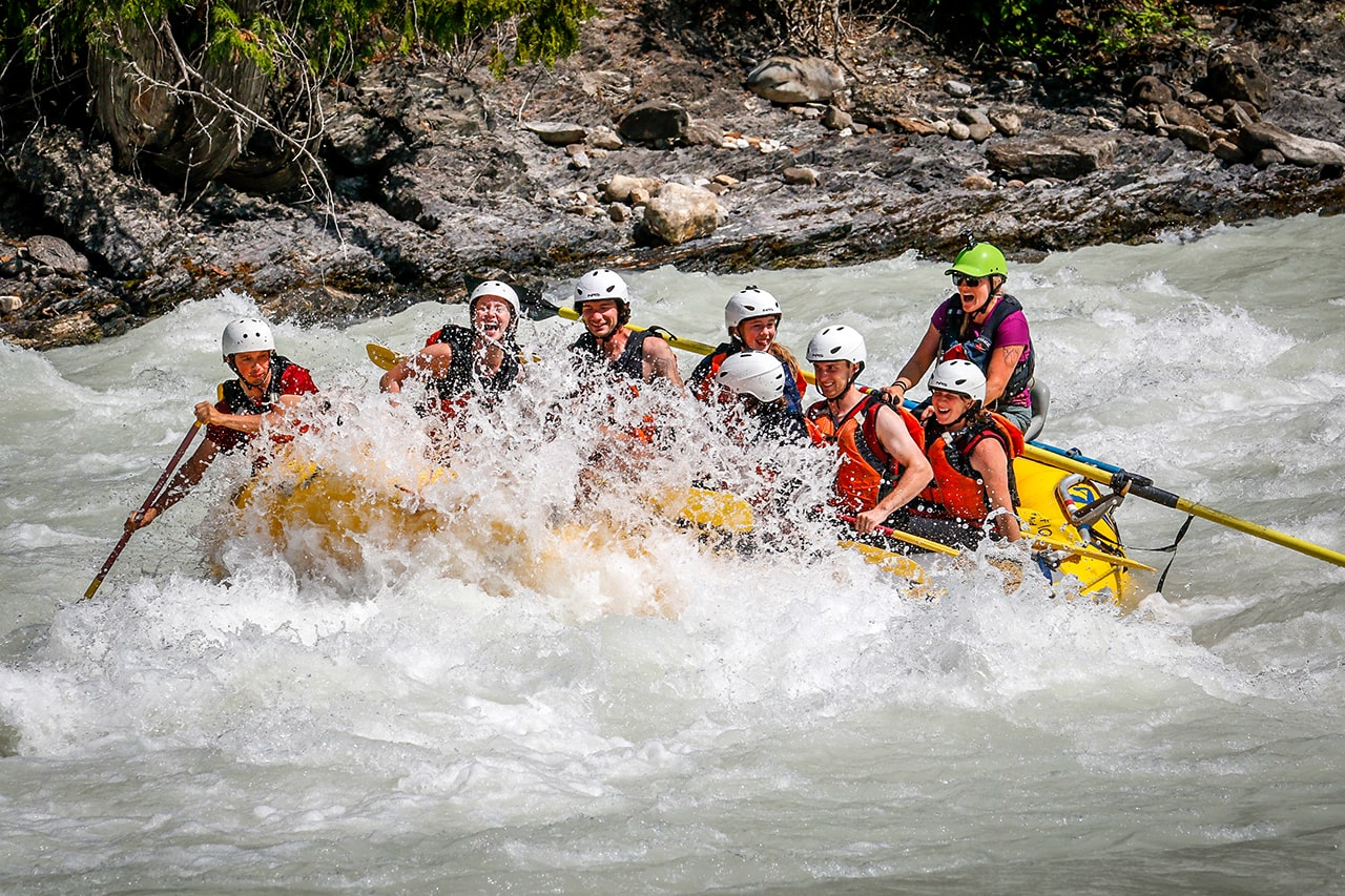 Kicking Horse River Guide Haley Wright