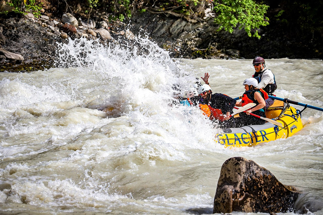 Whitewater Rafting in Golden, BC Canada